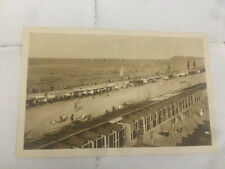11° cartolina RICCIONE SPIAGGIA CABINE E TENDE   1920 / 1930   3/17