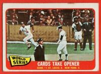 1965 Topps #132 Mike Shannon VG-VGEX St. Louis Cardinals Whitey Ford NY Yankees