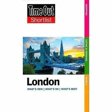 """VERY GOOD"" Time Out, Time Out London Shortlist (Time Out Shortlist), Book"