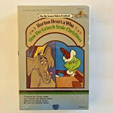 Dr Seuss Video Festival: Horton Hears Who, How Grinch Stole Christmas  BETA Tape