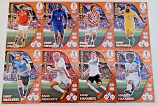 Adrenalyn XL FIFA World Cup 2018 Russia FANS FAVORITES 361-400 Panini