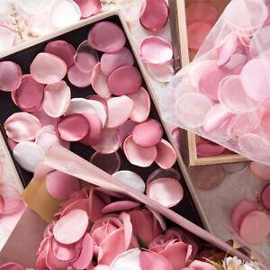 200 pieces /bag Artificial Silk Rose Petals Silk For Weddings Silk Handmade