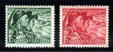 German Empire-third reich. 1938. wwii. mich. 684-5 Bunzlau mnh ** deutsches reich