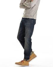 Nudie Herren Regular Tapered Fit Jeans - Steady Eddie Navy Cross - W27 / W28