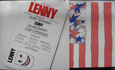"""Lenny ""Original Broadway Cast 1971, 2 LP's w/ Booklet and Poster BTS 9001- 1971"