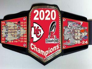 Kansas City Chiefs 2020 AFC Champions Championship Belt