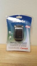 DigiPower Travel Charger for Digital Camera Accessory Canon Tc-500C