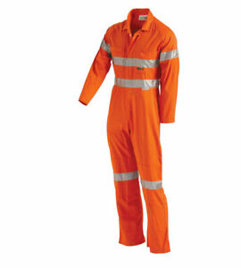 WORKIT Fire Retardant Pyrovatex HRC1 Treated Overall