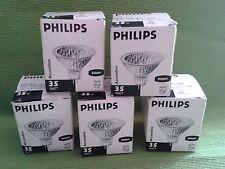 Lotto Stock di 5 Lampadine Accentline 35W+ 2 Lampadine Twistline Alu 50W Philips