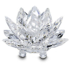 """Water Lily Candle Holder by Swarovski Medium 2.25"""" NEW IN BOX made in Austria"""