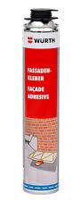 Würth Fassadenkleber 800 ML Dämmplatten Dämmstoff  Polyurethan Kleber 1K NEU