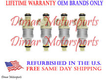 OEM Remanufactured Fuel Injector Set of 4 fits 1988-1993 MUSTANG 2.3L