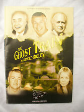 PROGRAMME GHOST TRAIN Arnold Ridley in Clwyd theater + x2 ticket stubs 2007