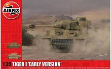 Airfix Tiger I - Early Version 1:35 Scale Plastic Model Tank Kit A1357