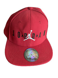 Nike Air Jordan Youth Jumpman Cap / Hat Strapback Red Youth Size Baseball Cap