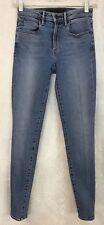 Alexander Wang Whip Skinny Stretch Jeans Indigo Wash Size 25