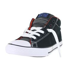 Converse K All Star Street Mid 654252F Black Red White Kids US size 11, EURO 28