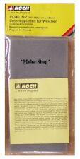 NOCH 99340 N/Z Schaumstoff-Platten braun,5 Stück á. 20x10 cm              #55956
