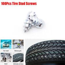 100pcs SUV Car Tire Stud Screws Accessories Anti-slip Snow Ice Road for Winter