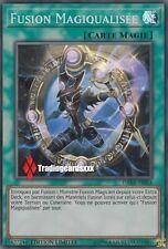 ♦Yu-Gi-Oh!♦ Fusion Magiqualisée (Polymérisation) : DANE-FRSE4 -VF/Super Rare-