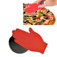 Roulette à pizza en forme de main - Couteau insolite pour pizza, quiche, tarte