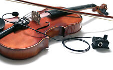 """""""THE FEATHER"""" 5-STRING VIOLIN MICROPHONE SYSTEM , Myers Pickups"""