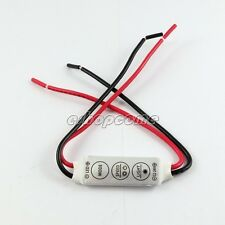 New DC 12V Mini LED Controller Dimmer for 3528 5050 5630 Sinlge Color LED Strip
