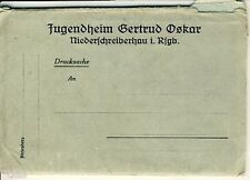 Jugendheim Oskar Niederschreiberhau 10 Fotos Leporello um 1928 Szklarska Poreba