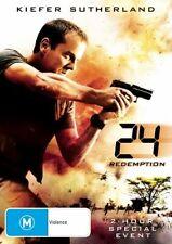 24 - Redemption (DVD, 2009) KIEFER SUTHERLAND- 2 HR SPECIAL EVENT -
