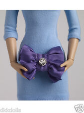 Tonner Nu Mood PUrple Satin and Rhinestone 16 in. Fashion Doll Purse 2012