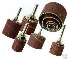 Drill drum sanding kit for metal wood plastic