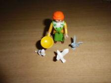 Playmobil BELEN, FIGURAS,ACCESORIOS,  MUJER PALOMAS