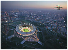 LONDON 2012 Olympics Games Stadium POSTER FRAMED ON CANVAS & MOUNTED