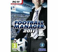Fußball Manager 2011 PC Mac PC Computer Spiel Sega Sports Soccer-gebraucht