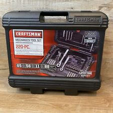 Craftsman Mechanic's Tool Set with Case 99.99% Complete!
