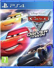 Cars 3: impulsado a ganar | PS4 PlayStation 4 Nuevo