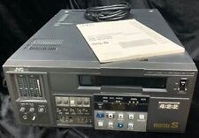 New ListingJvc DigitalS D-9 Video Cassette Recorder Player Br-D750U with Digital Video out