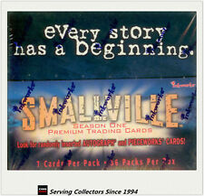 Inkworks Smallville Series 1 Trading Card Box (36 pks) x2 boxes