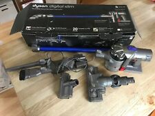 Dyson DC44 Animal handheld vacuum with charger and attachments in box for parts