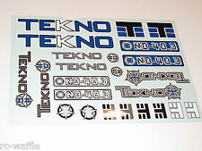 TKR5304 TEKNO RC NB48.3 1/8th COMP NITRO BUGGY DECALS