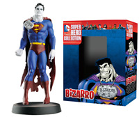 Figurine Bizarro DC Comics Super Héros Collection + Journal Jouet Eaglemoss NEUF