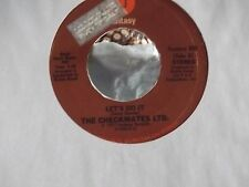 45 ! THE CHECKMATES LTD. LET'S DO IT / TAKE ALL THE TIME YOU NEED  FANTASY RECOR