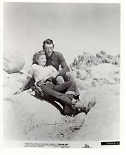 Anne Baxter Yellow Sky Gregory Peck Autograph Hand Signed 8x10 Photo