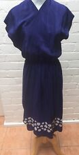 Womens Designer Dress Tucker Label Size Large