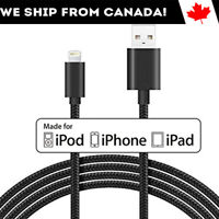 Apple Lightning Cable MFI Certified 3 - 10 ft for iPhone 11/ Xr/ Xs/ X/ 8/ iPad