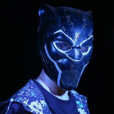 2018 New Black Panther Helmet Cosplay Avengers Infinity War Superhero Mask Latex