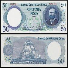 Chile 50 PESOS 1981 P 151b UNC OFFER !