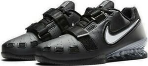 Nike Romaleos 2 Womens Weightlifting Shoes Boots Powerlift Trainers Black