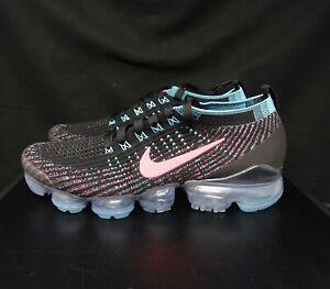 Women's Nike Air VaporMax Flyknit 3 Black Hyper Pink CZ7988-001 Size 9.5