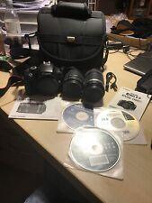 Canon EOS 1100D / EOS Rebel T3 12.2MP Digitalkamera - Schwarz Kit.